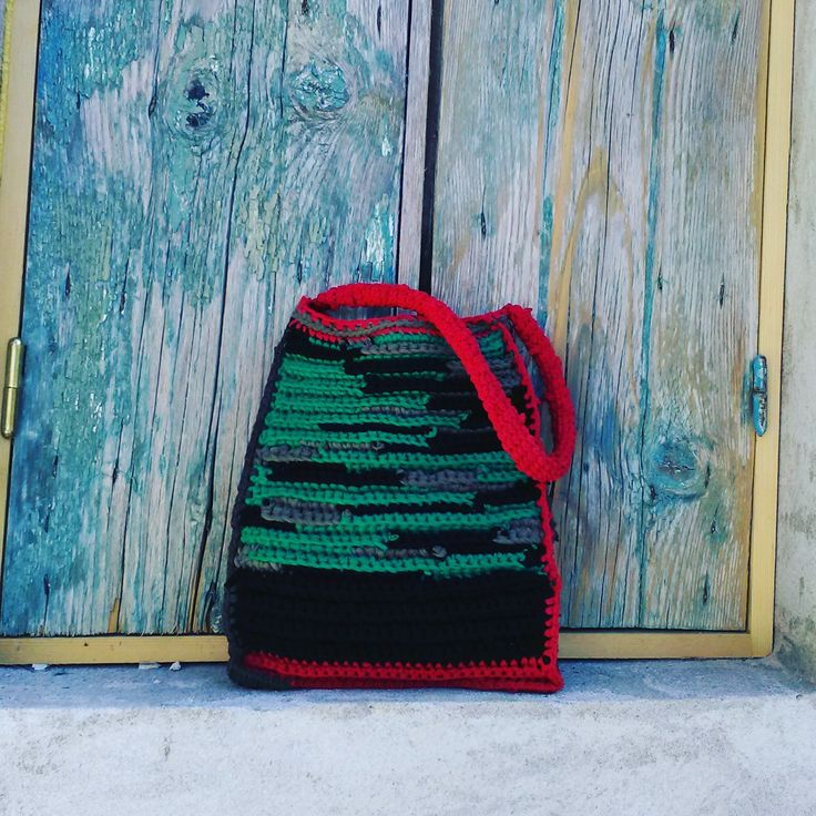 Bag made of upcycled tshirt
