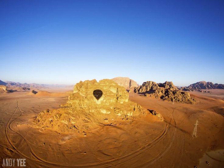 Jordan - A hot air balloon ride over Wadi Rum. What a view.   Read more: http://www.traveltherenext.com/classic/item/712-jordan-travel-petra-wadi-rum-jerash  #jordan #petra #jerash #wadirum #middleeast #exotic #adventure #experience #discover #travel #desert #historic #indianajones