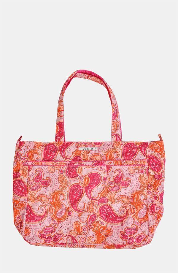 Pink paisley diaper bag | Ju-Ju-Be