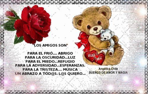 SUEÑOS DE AMOR Y MAGIA: Los amig@s son: