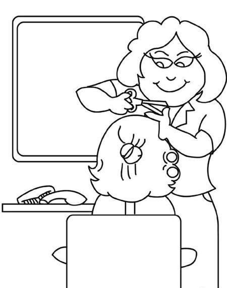 Meslekler Boyama Sayfaları 3 - Okul Öncesi Etkinlik Faaliyetleri - Madamteacher.com