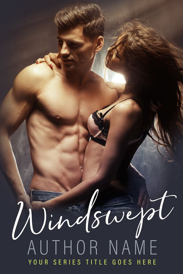 Windswept - Premade Book Cover by Angela Haddon Book Cover Design  #bookcover #bookcovers #premadecover #premadebookcover #indieauthor #indiepub #indiepublishing #selfpub #amwriting #bookmarketing #bookdesign #bookcoverdesign #bookdesigner #bookcoverdesigner #graphicdesigner #sexy #romance #romancecover #contemporaryromance #glamorcouple