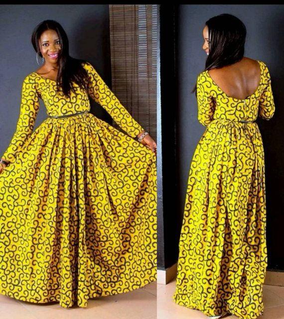 African Maxi Dresses