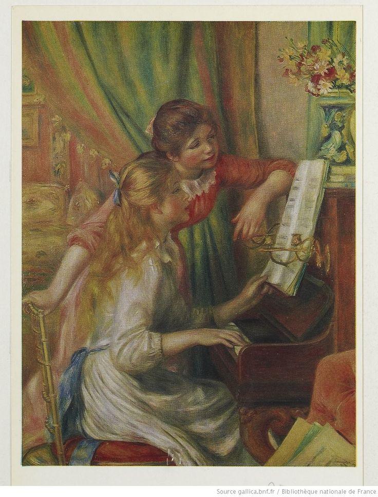 Jeunes filles au piano / Auguste Renoir ; [photogr. de