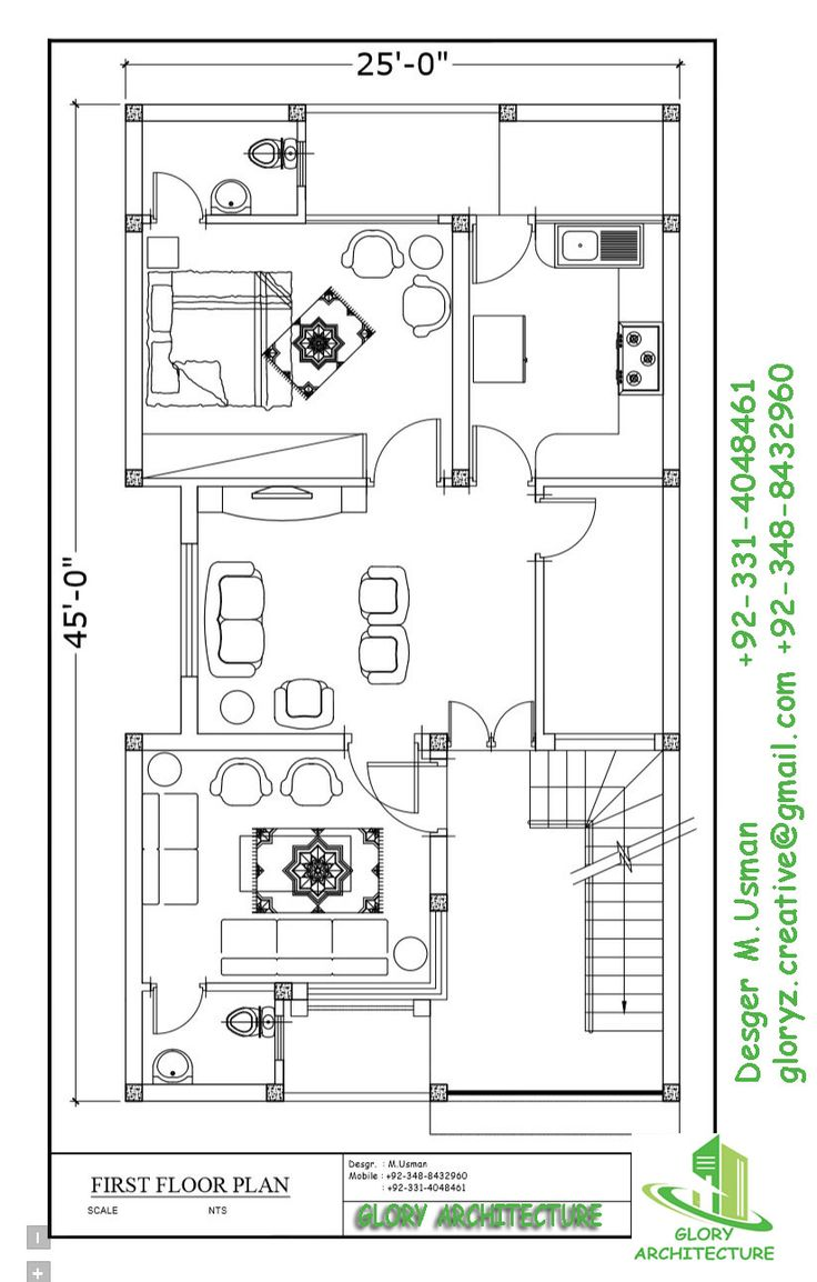 13 Best 25x45 House Plan Elevation Drawings Map Naksha