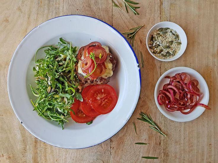 Rosemary+Burgers