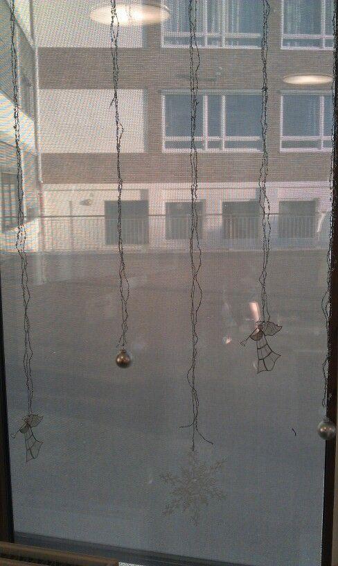 Dekor av vindu, kantina