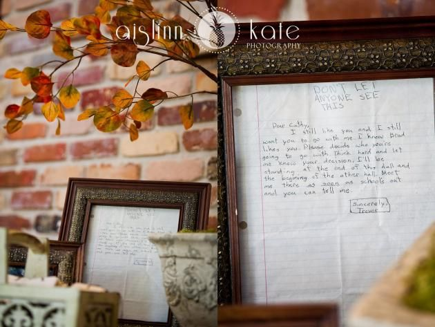 Love Letter Steals The Spotlight At High School Sweethearts' Wedding