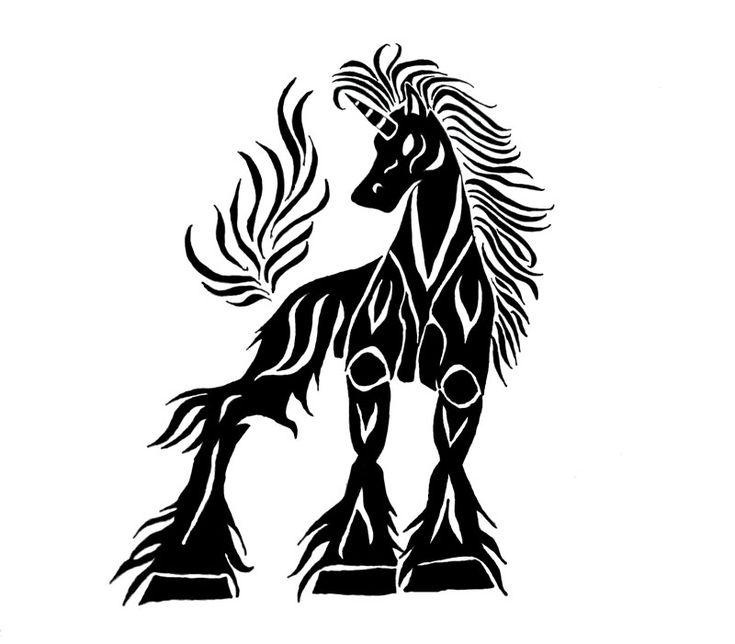 Unicorn Tattoo by ~XaraBlackShepherd on deviantART