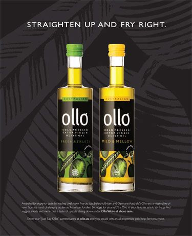 """ollo - """"Straighten up and fry right."""""""