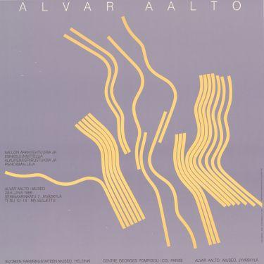 Alvar Aallon arkkitehtuuria ja esinesuunnittelua, alkuperäispiirustuksia ja pienoismalleja. Alvar Aalto -museo, Jyväskylä, 28.6.-28.8.1988.