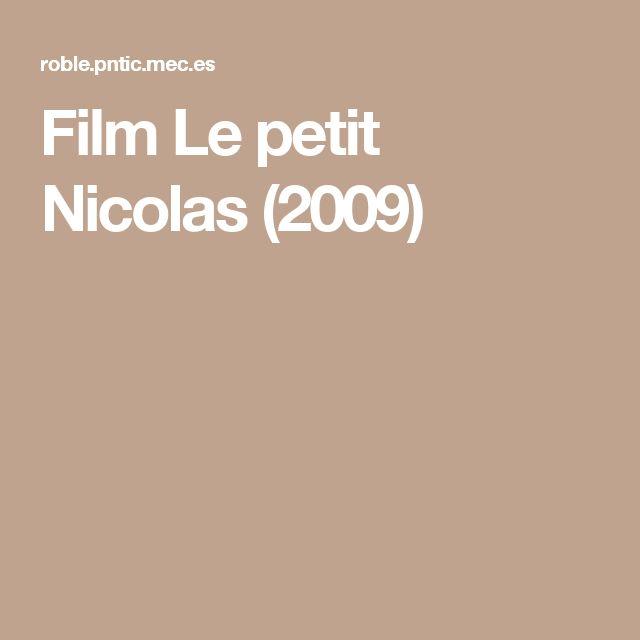 Film Le petit Nicolas (2009)
