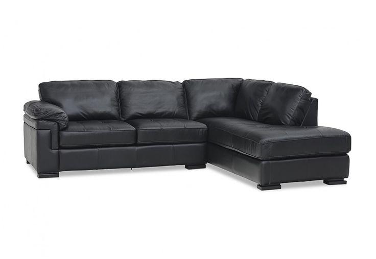 Constantine Leather Corner RHF Chaise Suite | Super A-Mart