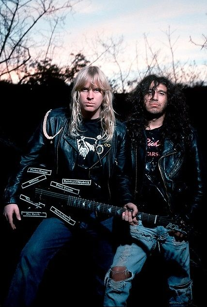 metalkilltheking:    Jeff Hanneman & Tom Araya