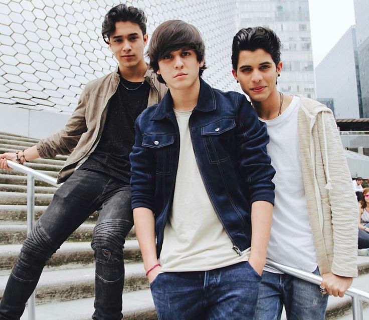 Erick Joel and Christopher CNCO