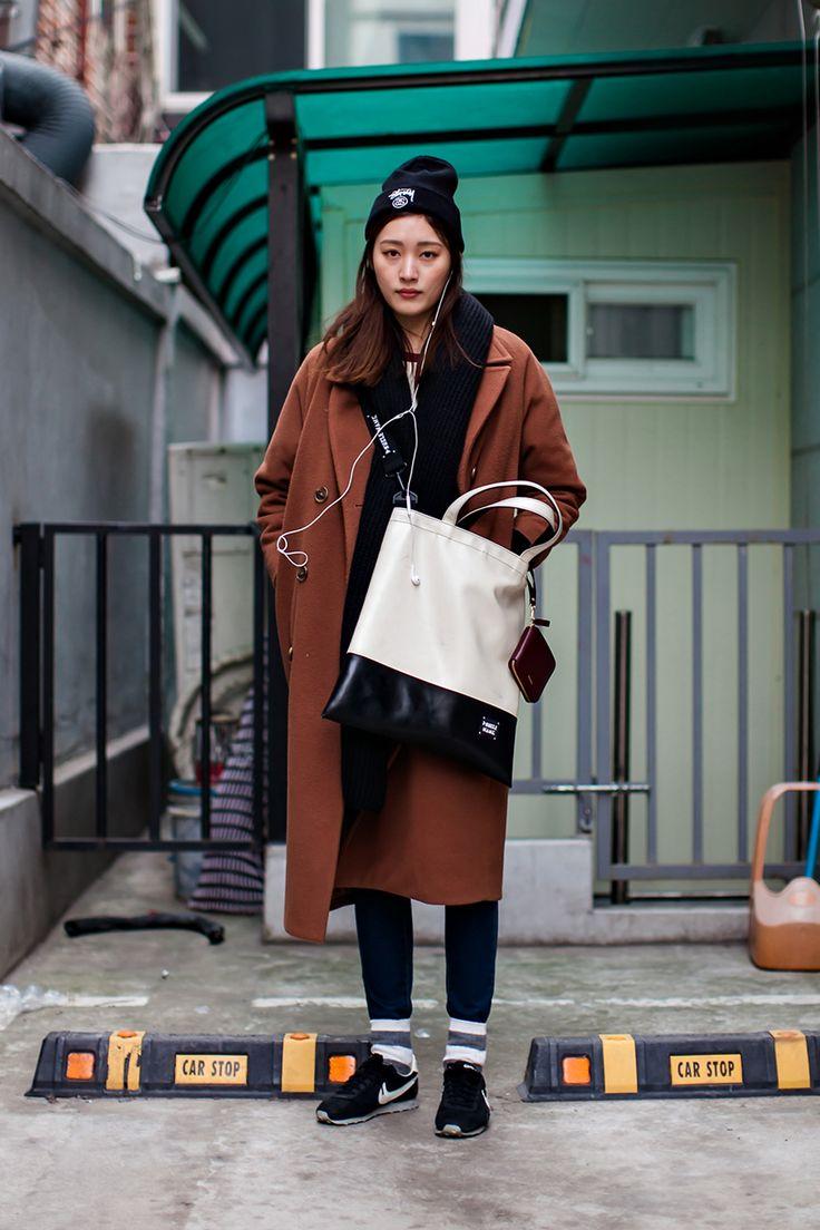Hat | Stussy Jacket | Alpha Industries Pants | Uniqlo Shoes | Nike On the street… Yoo Jihye Seoul