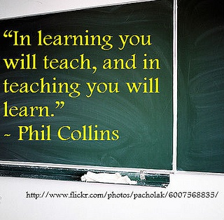 Educational Quote by racha048, via Flickr  I love this Quotes and it the reason i want to teacher and i know  that those years i missed in school i will learn as i teach.