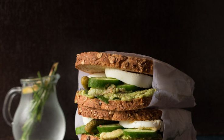 Healthy and filling, this Avocado Egg Sandwich is a must have.
