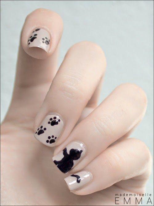 Decorado gatos para uñas, sencillas, bonitas - Imágenes | royderpl.com