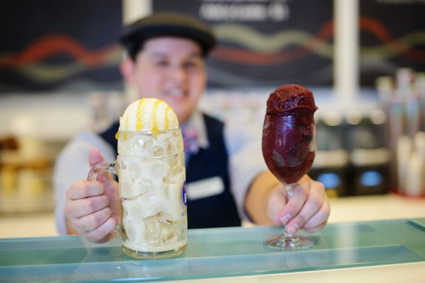 Alcoholic Ice Creams at BLVD Creamery at the Monte Carlo Las Vegas