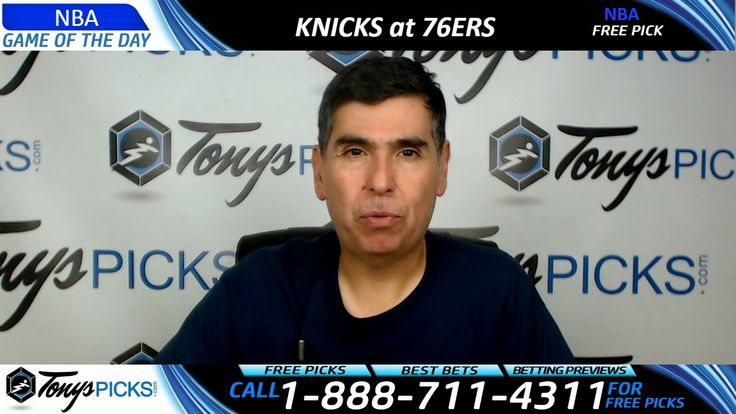 New York Knicks vs. Philadelphia 76ers Free NBA Basketball Picks and Pre...