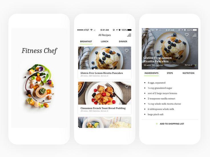 Cooking app by Melania Lupu
