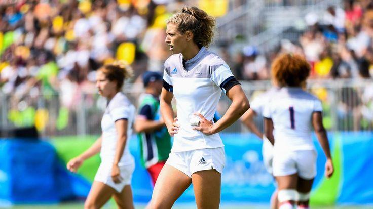 RIO 2016 - La France termine à la 6e place en rugby féminin aux Jeux Olympiques - Rugbyrama - 09/08/2016