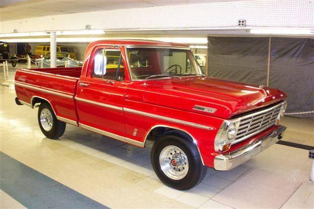 68 Ford Ranger truck