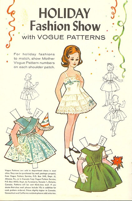 Paper doll - really cute