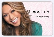 Makeup that will out last the party:  #Mally All Night Party Collection.  Click here for tips on how to get the perfect look: http://qvc.co/MallyHow-to