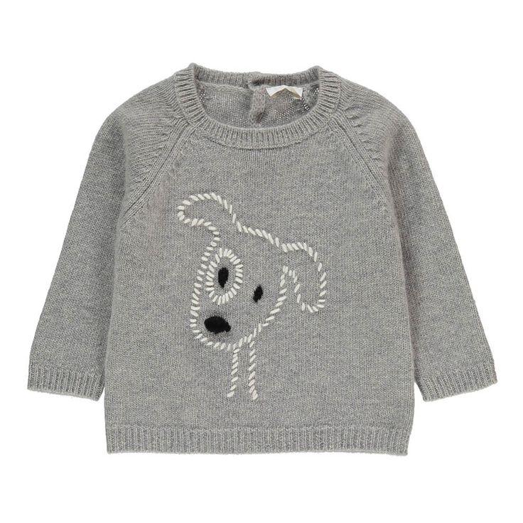#Hunde #Pullover Knopfleiste im Rücken