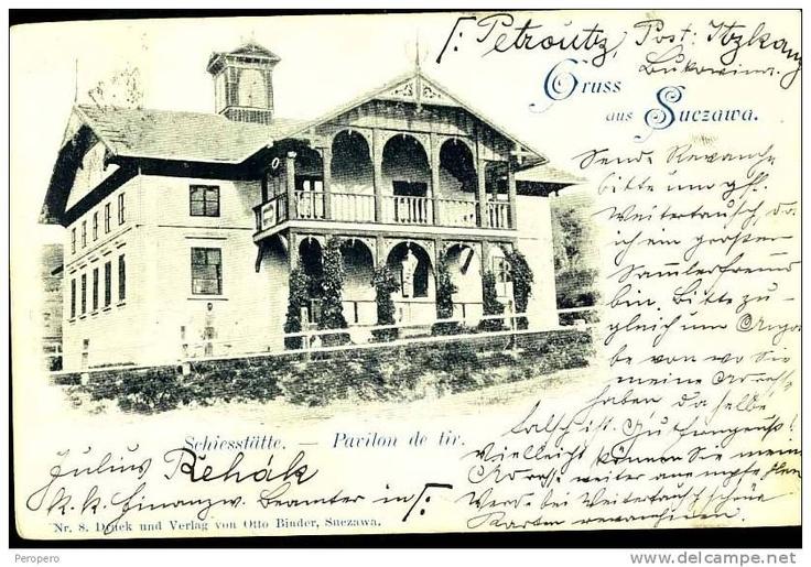 Suceava - Pavilion de tir 1898
