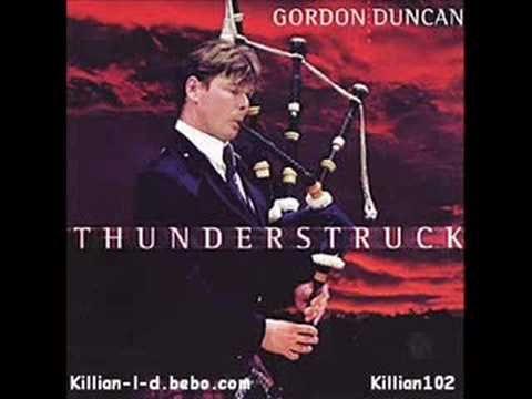 ▶ Thunderstruck-Gordon Duncan - YouTube