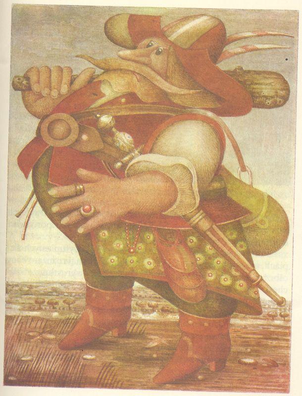 O Smolarczyku Marcinku i Okrutnym Madeju spod Sypniewa (1988), by Zdzisław Nowak  Illustration by Elżbieta Gaudasińska