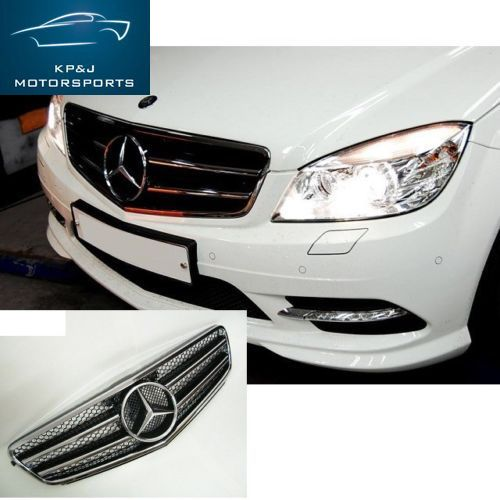 #Mercedes Benz #MBZ #C Class #W204 08-11 #C63 #AMG Style Look Front #Grille #goodgo