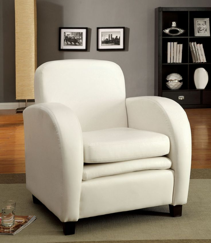contemporary style furniture. furniture u0026 design living room accent chairs lugano contemporary style white leather like vinyl double padded side chair