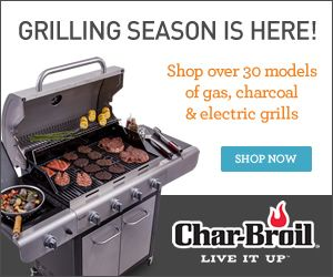 Up to 50% Off at Char-Broil