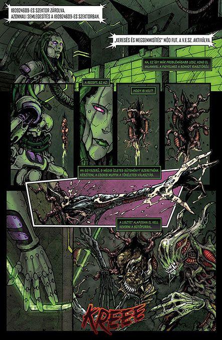 Bloodlust 3. szám, 11. képregényoldal