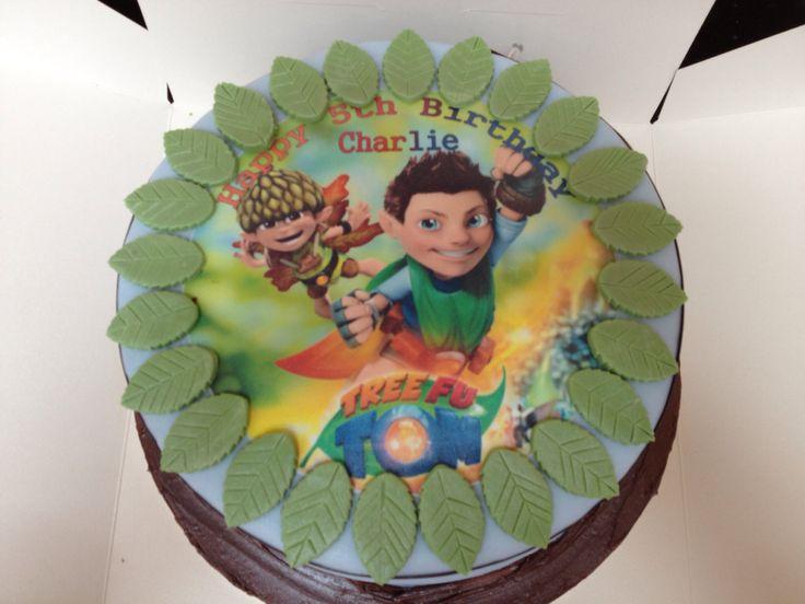 Tree Fu Tom Cake Fiesta Tree Fu Tom Cake Party Cakes
