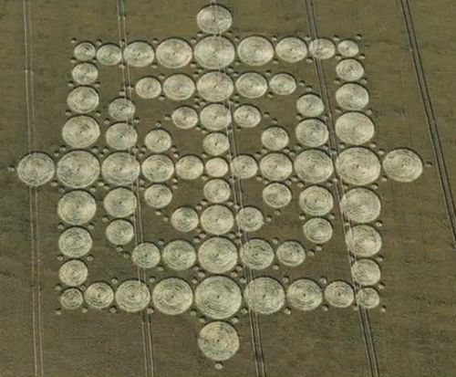 Crop Circle Message - The Chilbolton Code Crop Formation ... |Chilbolton Crop Circle Explanation
