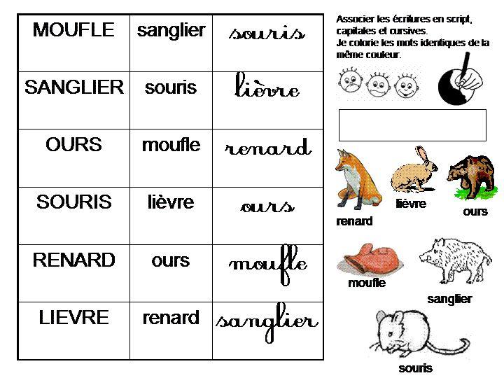 Maternelle: La moufle, exploitation en lecture