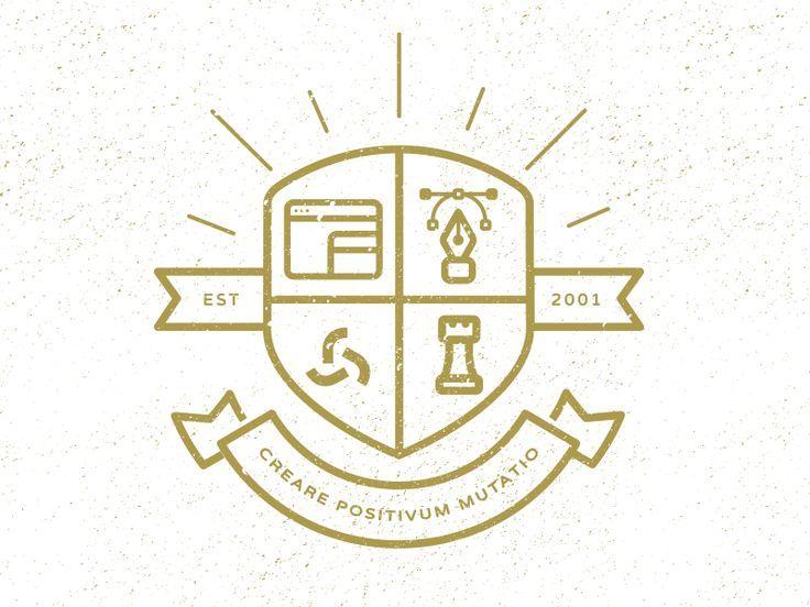 Modern crest logo?