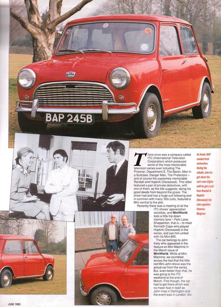 1000 images about celebrity minis on pinterest cars Randall motors