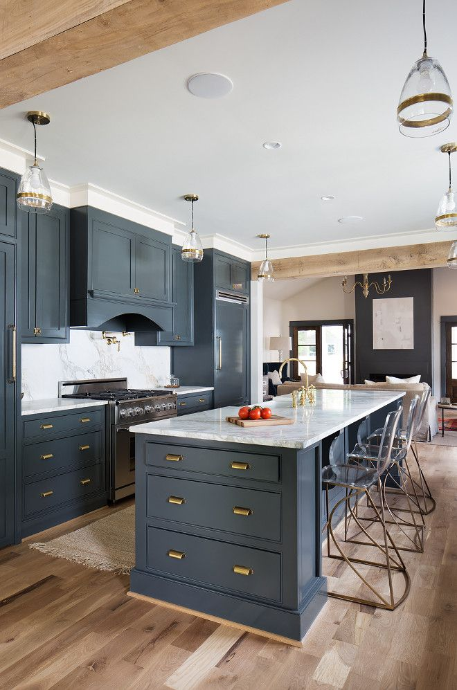 Kitchen Cabinet Colors best 25+ navy kitchen cabinets ideas on pinterest | navy cabinets