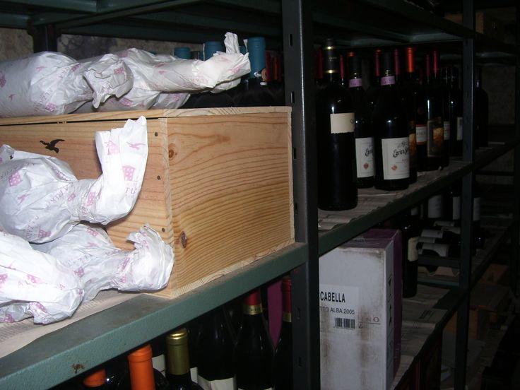 cantina dei vini eccezionale