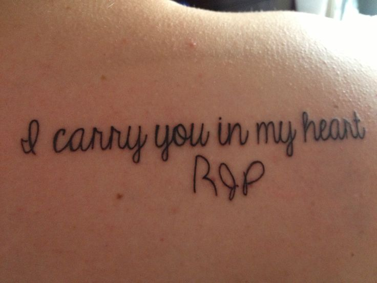 Memorial tattoo for my dad. His initials in his handwriting from a report card I found when I was in second grade.