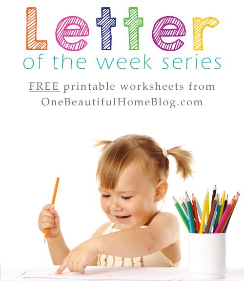 Are you busy teaching your toddler / preschooler the letters of the alphabet? Make sure you add these fun worksheets to yourcurriculum!  These worksheets not only help teach the letters of the alphabet but they also have focuses on:   Graphing   Handwriting   Search and Find   Coloring   ...