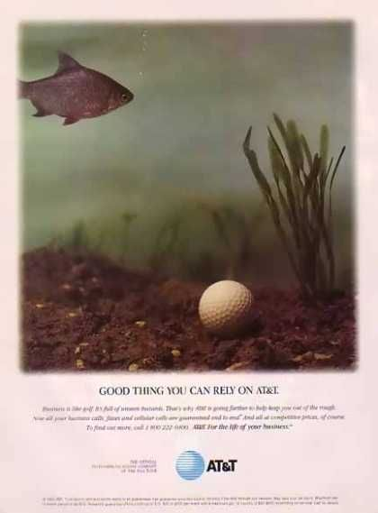 AT&T – Business is like Golf (1995)