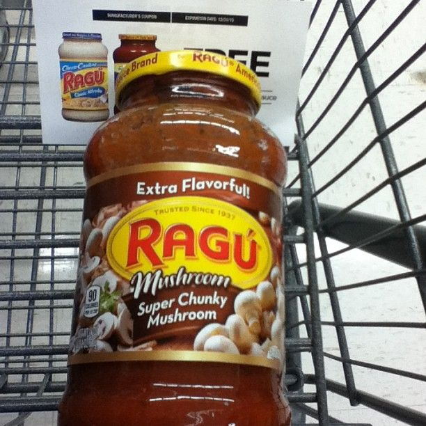 Redeemed my free Ragu coupon thanks to @influenster @ragusauce #ragu4you #contest