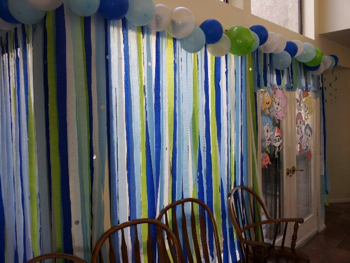 Under Water Theme For Bubble Guppies Party